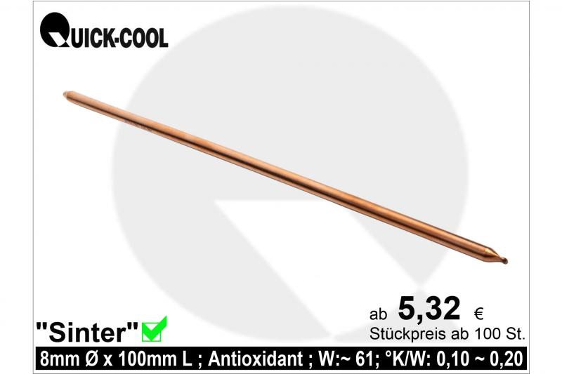 Sinter Heat-Pipe 8x100mm
