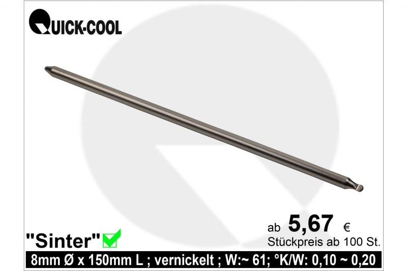 Sinter Heat-Pipe 8x150mm
