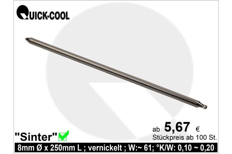 Sinter Heat-Pipe 8x250mm