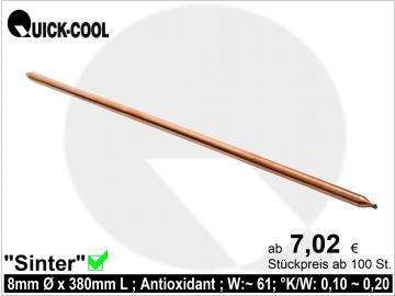 Sinter-Heatpipe 8x380mm