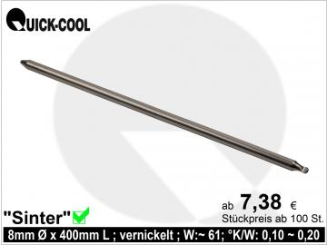 Sinter-Heatpipe 8x400mm