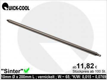 Sinter-Heatpipe 10x200mm