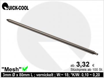 Mesh-Heatpipe 3x80mm