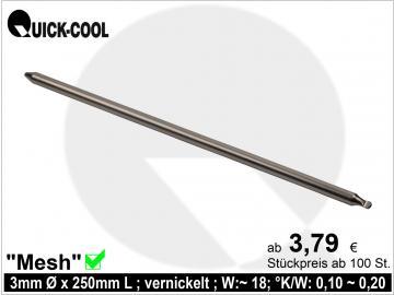 Mesh-Heatpipe 3x250mm