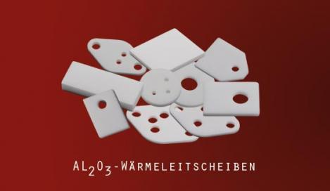 Quick-Ohm: AL2o3-Wärmeleitscheiben